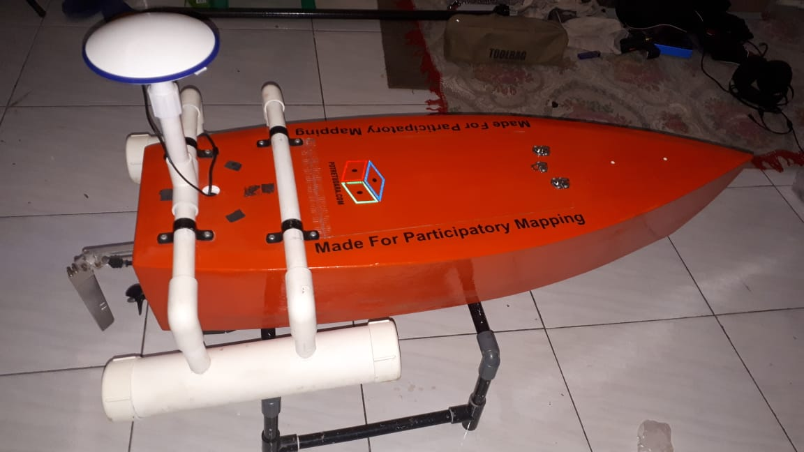 e-Bathymetry Boat